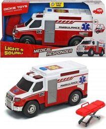 Dickie Ambulans 30cm biało-czerwony
