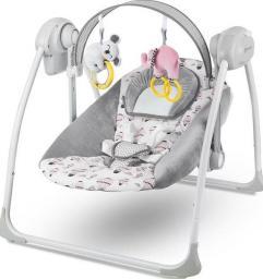 KinderKraft Bujaczek elektryczny FLO pink