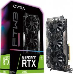 Karta graficzna EVGA GeForce RTX 2080 FTW3 Ultra Gaming 8GB GDDR6 (08G-P4-2287-KR)