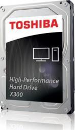 Dysk serwerowy Toshiba X300, 3.5'', 10TB, SATA/600, 7200RPM, 128MB cache, BOX (HDWR11AEZSTA)