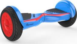 Deskorolka elektryczna Skymaster Deskorolka Wheels 11'' Dual Smart niebiesko - czerwona