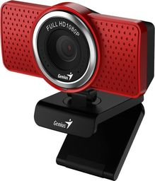 Kamera internetowa Genius ECam 8000, Czerwona