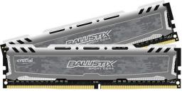 Pamięć Crucial Ballistix Sport LT, DDR4, 32 GB,2666MHz, CL16 (BLS2K16G4D26BFSB)