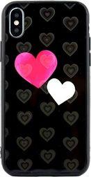 Beline Etui Hearts iPhone X/Xs wzór 5 (hearts black)