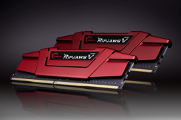 Pamięć G.Skill Ripjaws V, DDR4, 16 GB,3000MHz, CL16 (F4-3000C16D-16GVRB)