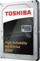 Dysk serwerowy Toshiba N300, 3.5'', 10TB, SATA/600, 7200RPM, 256MB, BOX
