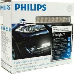 Philips LAMPY DO JAZDY DZIENNEJ PHILIPS 12831 WLEDX1 12V 6W LED DAYLIGHT 9 /KPL-2SZT/ DRL /ŚWIATŁA DZIENNE/