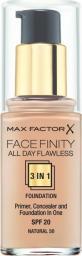 MAX FACTOR Podkład Facefinity 3w1 nr 50 Natural - 30ml