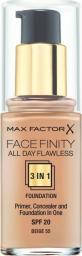 MAX FACTOR Podkład do twarzy Facefinity 3w1 nr 55 - 30ml