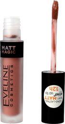 Eveline Eveline Matt Magic Lip Cream Pomadka w płynie matowa nr 04 Delicate Rose  4.5ml