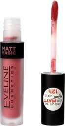Eveline Eveline Matt Magic Lip Cream Pomadka w płynie matowa nr 05 Lovely Nude Rose  4.5ml