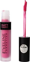 Eveline Eveline Matt Magic Lip Cream Pomadka w płynie matowa nr 06 Soft Purple  4.5ml