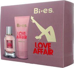Bi-es Zestaw Love Affair woda perfumowana 100ml + żel pod prysznic 150ml