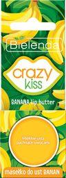 Bielenda Bielenda Crazy Kiss Masełko do ust Bananowe  10g