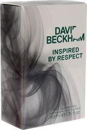 David Beckham Inspired By Respect EDT 40ml
