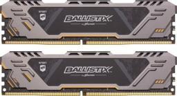 Pamięć Ballistix Ballistix Sport AT, DDR4, 32GB,2666MHz, CL16 (BLS2K16G4D26BFST)