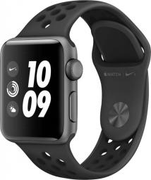 Smartwatch Apple Watch Nike+ Series 3 GPS 38mm Grey Alu Szary  (MTF12ZD/A)