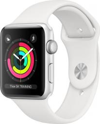 Smartwatch Apple Watch Series 3 Srebrny  (MTF22ZD/A)