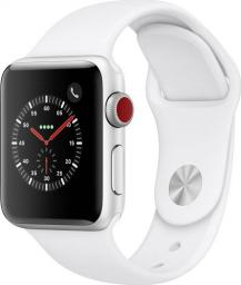 Smartwatch Apple Watch Series 3 Srebrny  (MTGN2ZD/A)