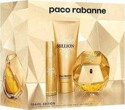 PACO RABANNE Lady Million EDP spray 80ml + EDP 10ml + Body Lotion 75ml