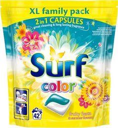 Surf Kapsułki do prania do koloru Fruity Fiesta&Summer Flowers 42szt.