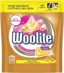 Woolite Pro-Care kapsułki do prania z keratyną 35szt