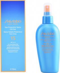 SHISEIDO Sun Protection Spray Oil - Free SPF15 krem chroniący przed słońcem w spary'u do twarzy i ciała 150ml