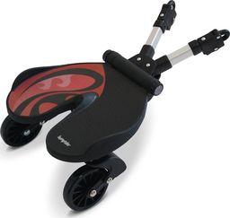 Bumprider Dostawka do wózka - czarny/czerwony