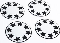 Pogu Odblaskowe naklejki na koła wózka - Gwiazdy