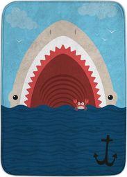 Achoka Dywan dla dzieci ultra miękki 100x150 Rekin i Krab w morzu
