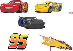 Dekoracje ścienne Auta - Cars - zestaw mały