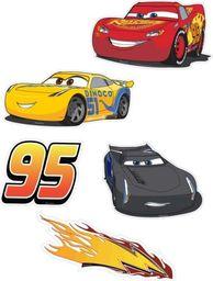 Dekoracje ścienne Auta - Cars - zestaw duży