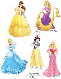Dekoracje ścienne księżniczki - zestaw
