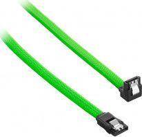 CableMod ModMesh Kątowy kabel SATA 3 30cm - jasnozielony