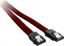 CableMod ModMesh SATA 3 Kabel 30 cm - krwistoczerwony