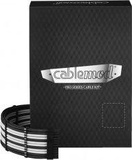 CableMod CableMod PRO ModMesh C-Series RMi & RMx Cable Kit - schwarz/weiß