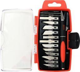 Gembird Zestaw precyzyjnych noży modelarskich 16szt.