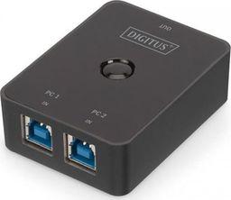 Przełącznik Digitus DIGITUS Switch Sharing USB3.0 2PC -> 1Endgerät schwarz