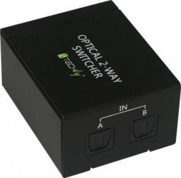 Techly Przełącznik audio Toslink (IDATA-TOS-SW2)
