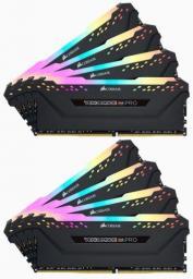 Pamięć Corsair Vengeance RGB PRO, DDR4, 64 GB,3466MHz, CL16 (CMW64GX4M8C3466C16)