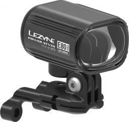 Lezyne Lampka przednia ebike power stvzo pro e80 290 lumenów 80 luxów, auto day/night sensor pod napęd elektryczny, kabel 130cm czarna