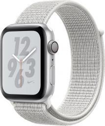 Smartwatch Apple Watch Nike+ Series 4 Srebrny  (MU7H2WB/A)