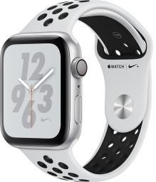 Smartwatch Apple Watch Nike+ Series 4 GPS Czarno-biały  (MU6K2WB/A)