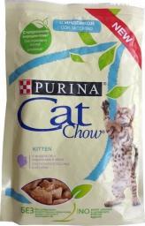 Purina Cat Chow Kitten Indyk i cukinia saszetka 85g