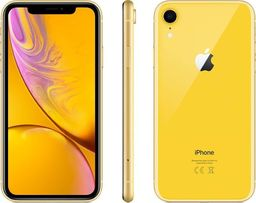 Smartfon Apple  iPhone XR 64 GB Dual SIM Żółty  (mry72cn/a)