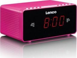 Radiobudzik Lenco CR-510 różowy
