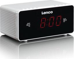 Radiobudzik Lenco CR-510 biały