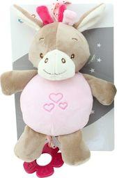 Axiom Pozytywka New Baby Osiołek różowy 22 cm