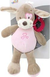 Axiom Zawieszka New Baby Piesek różowy 25 cm
