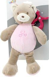 Axiom Zawieszka New Baby Miś różowy 25 cm